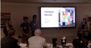 Students present to panel of judges at Rochester Institute of Technology
